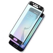 Защитное стекло 0.3 mm с изогнутыми краями для Samsung Galaxy S6 edge Black