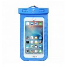 Водонепроницаемый чехол для телефона BASEUS WATERPROOF BLUE