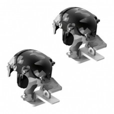 Игровые триггеры для телефона Baseus Level 3 Helmet PUBG Gadget GA03 Camouflage Gray