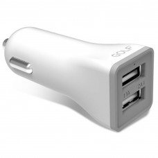 Автомобильное зарядное устройство Golf GF-C2 Car charger 2USB 3.1A White