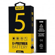 Аккумулятор Golf Li-polymer для Apple iPhone 5 Battery 1440 mAh