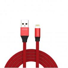 Дата кабель Golf (GC-55i) USB to lightning (100см) Красный