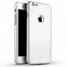 Чехол-накладка Ipaky TPU+PC для iphone 6/6S Silver