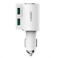 Автомобильное зарядное устройство Ldnio CM10 (2USB 4.2A) White