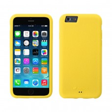 Чехол-накладка Melkco Silikonovy Case для iPhone 6 Plus/6s Plus Yellow