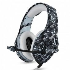 Наушники игровые Onikuma K1 Pro с микрофоном Camouflage grey