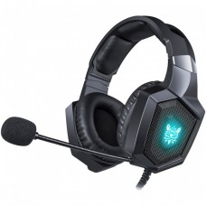 Игровые наушники с микрофоном Onikuma K8 RGB Black
