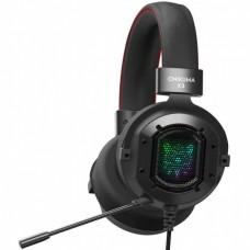 Наушники игровые Onikuma K3 RGB с микрофоном Black
