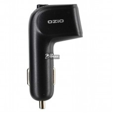 Автомобильное зарядное устройство Ozio E-CG34 Dual (1USB 2.4A) Black