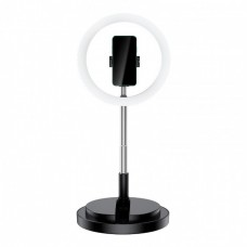 Кольцевая LED-лампа для селфи Usams US-ZB120 Stretchable Selfie Ring Light Black