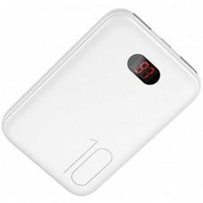 Power Bank Usams US-CD78 PB17 Dual USB With Lanyard 10000mAh White