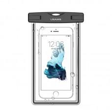 Водонепроницаемый чехол для смартфонов (до 55 дюймов) Usams US-YD001 Luminous Waterproof Black